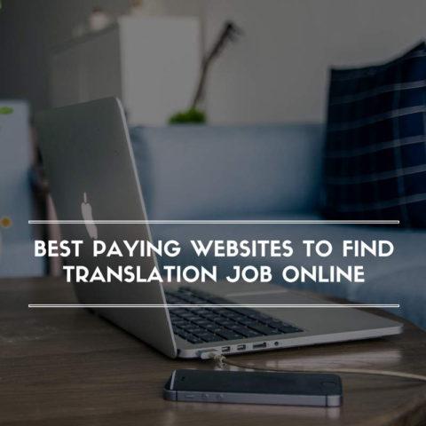Best Paying Websites to Find Translation Job Online